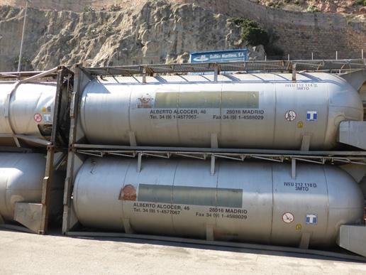Tanks almacenados